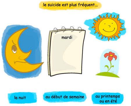 fréquence suicides