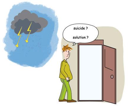 idéations suicidaires