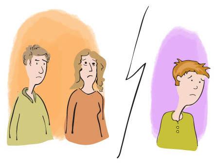 problèmes d'interactions entre l'enfant et ses parents