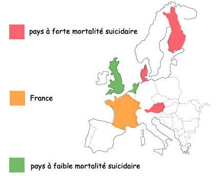 suicide en Europe