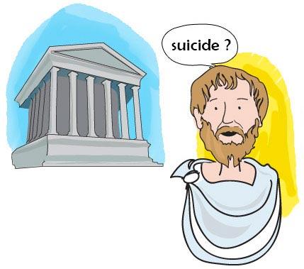 le suicide dans l'antiquité